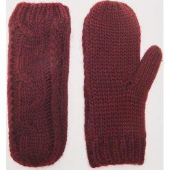 Rękawiczki z jednym palcem - Bordowy. Czerwone rękawiczki damskie House. Za 35.99 zł.