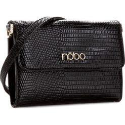 Torebka NOBO - NBAG-C3600-C 020  Czarny. Czarne listonoszki damskie Nobo, ze skóry ekologicznej. W wyprzedaży za 109.00 zł.