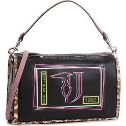 Torebka TRUSSARDI JEANS - Liquirizia 75B4199 K299. Czarne torebki do ręki damskie TRUSSARDI JEANS, z jeansu. Za 579.00 zł.