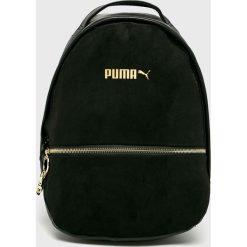 Puma - Plecak. Czarne plecaki damskie Puma, z materiału. W wyprzedaży za 219.90 zł.
