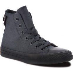 Trampki CONVERSE - Ctas Hi 161428C Black/Black/Brown. Czarne trampki męskie Converse, z gumy. W wyprzedaży za 259.00 zł.