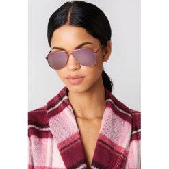 Le Specs Okulary przeciwsłoneczne Kingdom - Pink. Różowe okulary przeciwsłoneczne damskie Le Specs. W wyprzedaży za 121.58 zł.