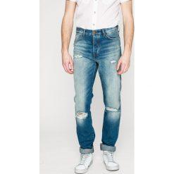 Wrangler - Jeansy Spencer. Niebieskie jeansy męskie Wrangler. W wyprzedaży za 259.90 zł.