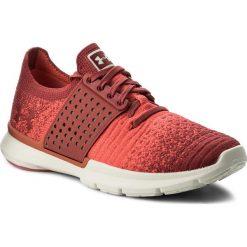Buty UNDER ARMOUR - Ua W Speedform Slingwrap Fade 1298673-601 Red. Czerwone obuwie sportowe damskie Under Armour, z gumy. W wyprzedaży za 289.00 zł.