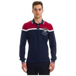Galvanni Koszulka Polo Męska Harau Xl, Ciemnoniebieski. Czarne bluzki z długim rękawem męskie Galvanni, z materiału, polo. W wyprzedaży za 269.00 zł.