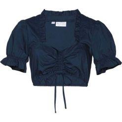 Bluzka pod sukienkę ludową bonprix ciemnoniebieski. Niebieskie bluzki damskie bonprix. Za 89.99 zł.