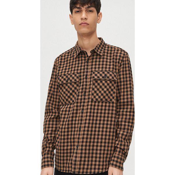 Wyprzedaż koszule męskie ze sklepu Cropp Kolekcja lato  4xw3I