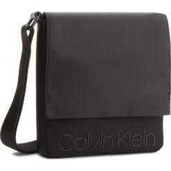 Saszetka CALVIN KLEIN - Shadow Reporter With K50K503913 001. Czarne saszetki męskie Calvin Klein, z materiału, młodzieżowe. Za 299.00 zł.