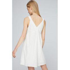 Roxy - Sukienka. Szare sukienki damskie Roxy, z bawełny, casualowe. W wyprzedaży za 199.90 zł.