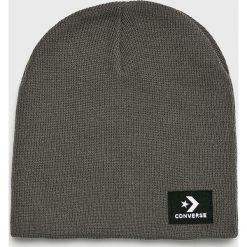 Converse - Czapka. Szare czapki i kapelusze męskie Converse. Za 89.90 zł.