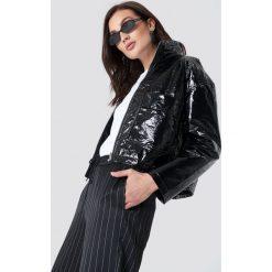 NA-KD Trend Kurtka Patent Short - Black. Czarne kurtki damskie NA-KD Trend, ze skóry. Za 242.95 zł.