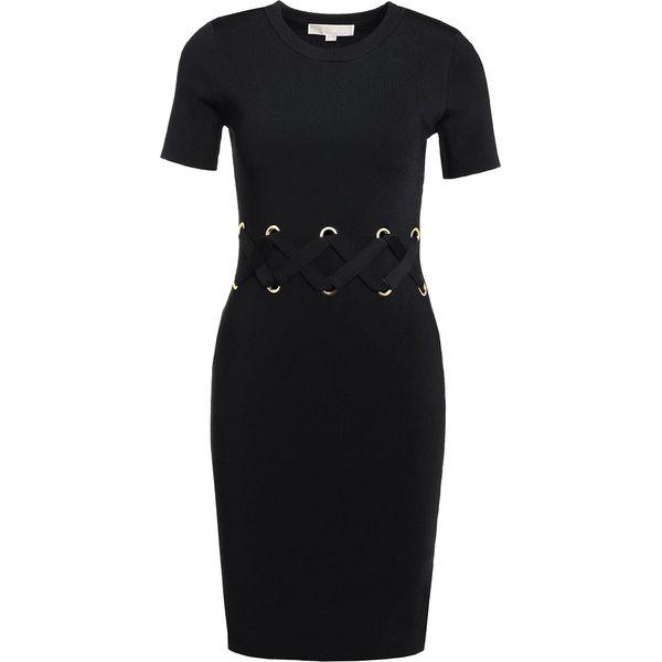 c3faa4aa60a72 MICHAEL Michael Kors LACE DETAIL Sukienka etui black - Sukienki ...