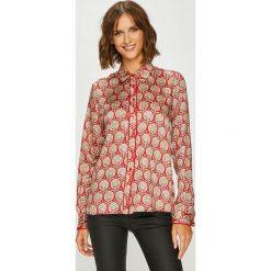 Pepe Jeans - Koszula Domenica. Różowe koszule damskie Pepe Jeans, z jeansu, z długim rękawem. W wyprzedaży za 279.90 zł.