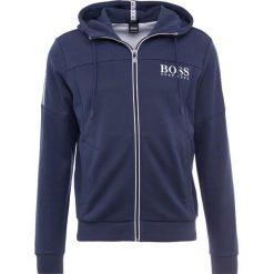 BOSS ATHLEISURE SAGGY Bluza rozpinana navy. Bluzy męskie BOSS ATHLEISURE, z bawełny. Za 749.00 zł.