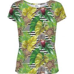 Colour Pleasure Koszulka damska CP-034 271 zielona r. XS/S. T-shirty damskie Colour Pleasure. Za 70.35 zł.