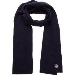 Szal EA7 EMPORIO ARMANI - 275807 8A303 02836 Dark Blue. Szare szaliki i chusty damskie marki Giacomo Conti, na zimę, z tkaniny. W wyprzedaży za 239.00 zł.