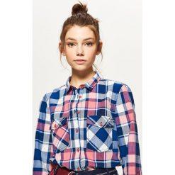 Koszula w kratę - Różowy. Koszule damskie marki SOLOGNAC. W wyprzedaży za 19.99 zł.