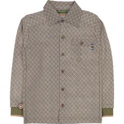 """Koszula """"Fencewalk"""" w kolorze brązowo-antracytowym. Koszule dla chłopców marki bonprix. W wyprzedaży za 102.95 zł."""
