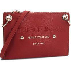 Torebka VERSACE JEANS - E1VSBBS6 70789 500. Czerwone listonoszki damskie Versace Jeans, z jeansu. Za 619.00 zł.