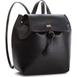 Plecak MICHAEL MICHAEL KORS - Junie 30T8TX5B2L Black. Czarne plecaki damskie MICHAEL Michael Kors, ze skóry, eleganckie. Za 1,279.00 zł.