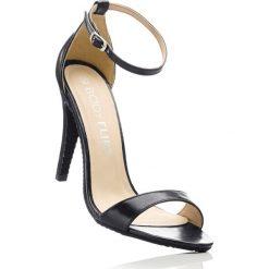 Sandały bonprix czarny. Czarne sandały damskie bonprix. Za 89.99 zł.