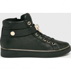 Guess Jeans - Buty Boxing. Czarne obuwie sportowe damskie Guess Jeans, z aplikacjami, z gumy. Za 579.90 zł.