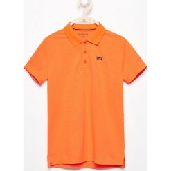 Koszulka polo - Pomarańczo. T-shirty dla chłopców Reserved. W wyprzedaży za 19.99 zł.
