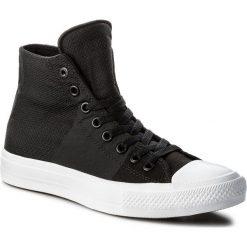 Trampki CONVERSE - Ctas II Hi 155530C Black/StormWind/White. Czarne trampki męskie Converse, z gumy. W wyprzedaży za 219.00 zł.