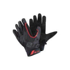 Rękawiczki 900. Czarne rękawiczki męskie DOMYOS, ze skóry. Za 59.99 zł.