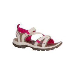 Sandały turystyczne Arpenaz 120 damskie. Brązowe sandały damskie QUECHUA, z gumy. Za 129.99 zł.