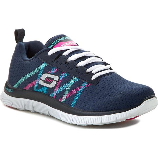 2ce9dfd36 Buty SKECHERS - Something Fun 111885/NVMT Navy/Multi - Obuwie ...