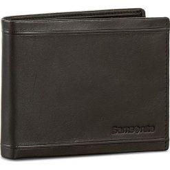 Duży Portfel Męski SAMSONITE - 001-01460-0274-01 Black. Czarne portfele męskie Samsonite, ze skóry. Za 159.00 zł.