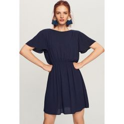 Sukienka mini ReDesign - Granatowy. Niebieskie sukienki damskie Reserved. Za 299.99 zł.