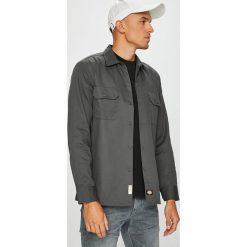 Dickies - Koszula. Szare koszule męskie Dickies, z bawełny, z klasycznym kołnierzykiem, z długim rękawem. W wyprzedaży za 179.90 zł.