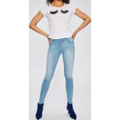 Only - Jeansy Allanreg. Niebieskie jeansy damskie Only. W wyprzedaży za 119.90 zł.