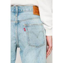 Levi's - Jeansy 501. Brązowe jeansy damskie Levi's. Za 399.90 zł.