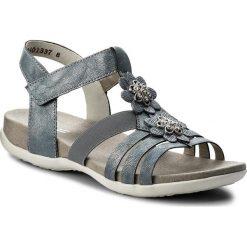 Sandały RIEKER - K2266-12 Blue. Sandały dziewczęce Rieker, ze skóry ekologicznej. Za 229.00 zł.