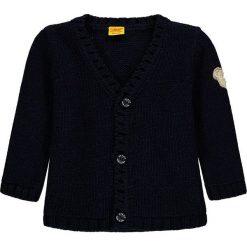 Kardigan w kolorze granatowym. Swetry dla dziewczynek marki bonprix. W wyprzedaży za 147.95 zł.