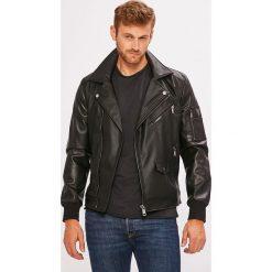 Guess Jeans - Kurtka. Czarne kurtki męskie Guess Jeans, z jeansu. W wyprzedaży za 599.90 zł.