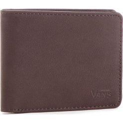 Duży Portfel Męski VANS - Drop V Bifold W WN0A31J8DRB Dark Brown 454. Brązowe portfele męskie Vans, ze skóry ekologicznej. Za 119.00 zł.