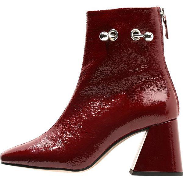 4883928855c34 Boot Marki Patent Damskie Botki Mighty Burgundy Topshop 1xw5S