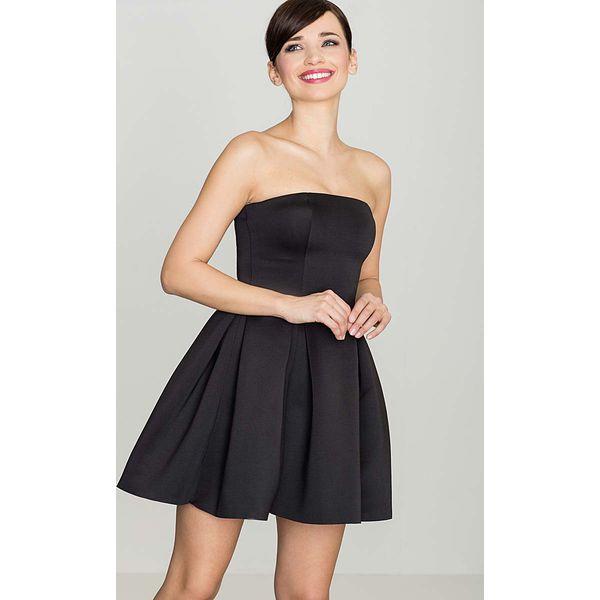 fa7983556a Czarna Wieczorowa sukienka Gorsetowa - Sukienki damskie marki Molly ...
