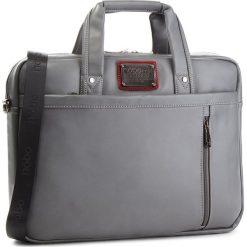 Torba na laptopa NOBO - NBAG-F0522-C019 Szary. Szare torby na laptopa damskie Nobo, ze skóry ekologicznej. W wyprzedaży za 169.00 zł.