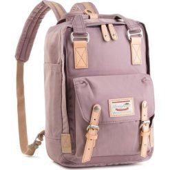 Plecak DOUGHNUT - D010-0074-F  Macaroon Lilac. Fioletowe plecaki damskie Doughnut, z materiału. Za 349.00 zł.
