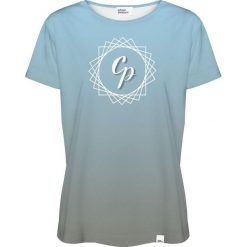 Colour Pleasure Koszulka damska CP-030 292 niebiesko-szara r. XL/XXL. T-shirty damskie Colour Pleasure. Za 70.35 zł.