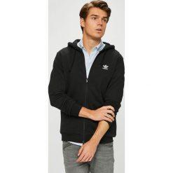 Adidas Originals - Bluza. Czarne bluzy męskie adidas Originals, z nadrukiem, z bawełny. Za 329.90 zł.