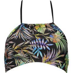 """Biustonosz bikini """"Tropic"""" w kolorze czarnym ze wzorem. Bikini damskie Lisca. W wyprzedaży za 56.95 zł."""