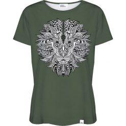 Colour Pleasure Koszulka damska CP-030 208 zielona r. XL/XXL. T-shirty damskie Colour Pleasure. Za 70.35 zł.