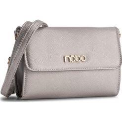 Torebka NOBO - NBAG-C3605-C022 Srebrny. Szare torebki do ręki damskie Nobo, ze skóry ekologicznej. W wyprzedaży za 89.00 zł.