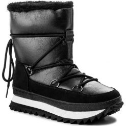 Śniegowce JENNY FAIRY - LS4331-02 Czarny. Śniegowce i trapery damskie Jenny Fairy, z materiału. Za 169.99 zł.